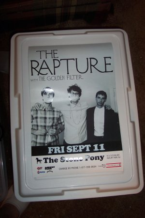The Rapture Tour Poster