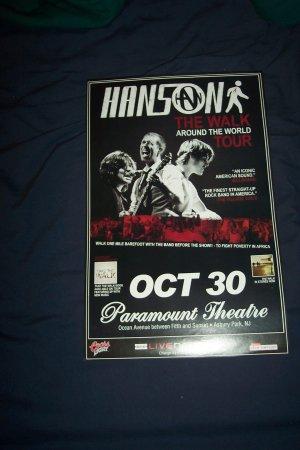 Hanson Tour Poster