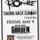 5 My Chemical Romance Taking Back Sunday Concert Handbills