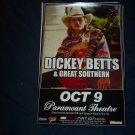 Dickey Betts Tour Poster Allman Brothers