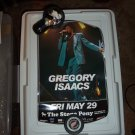 Gregory Isaacs Tour Poster
