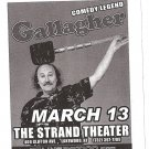5 Gallagher Comedy Legend Tour Flyers