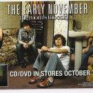 3 The Early November Album Handbills