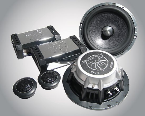 """Soundstream XTC 6 6.5"""" 2 Way Component (LIMITED EDITION)"""