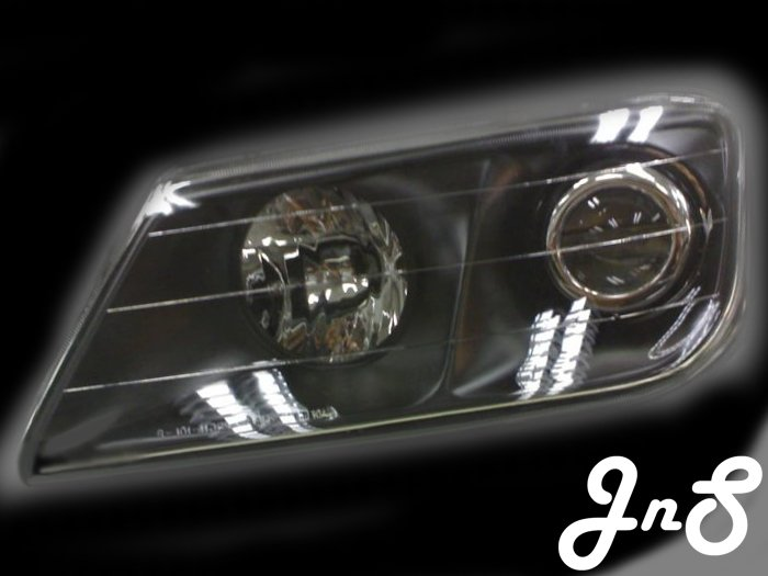 Proton Waja / Chancello Head Lamp - Crystal / Black / 0 CCFL / Projector
