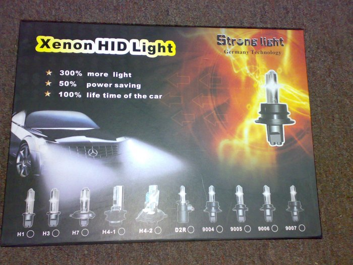 Strong Light Hid Kit