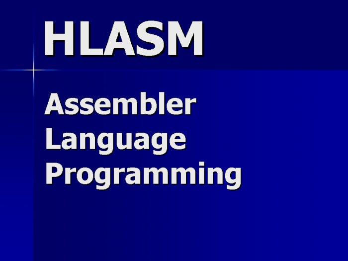 Assembler Programming Contractor