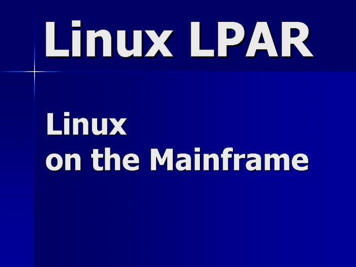 Linux LPAR Contractor