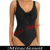 Black Bow Rivage MIRACLESUIT Swimsuit UK 14, US 12 $99 (RRP  $210)