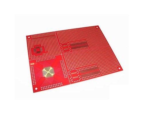 LQFP SOIC TQFP SSOP prototype board: ATMEL, PIC, DSP, NXP, other