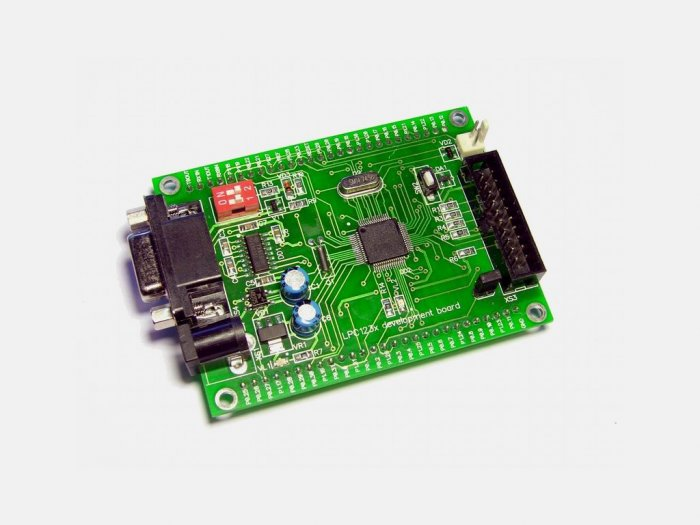 NXP Phillips ARM ARM7 LPC2134 developmet board: RS232, JTAG, LPC