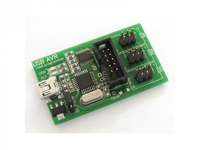 USB AVR mkII programmer (AVRISP mkII clone) with ISP/PDI/TPI support