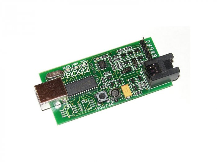 PICkit2 Lite: USB microchip PIC programmer/debugger. Better than ICD 2.