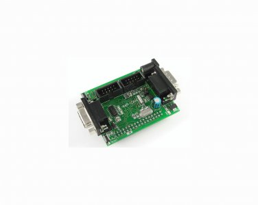 AVR-CAN AT90CAN128 ATMEL prototype board: CAN, RS232 UART, JTAG, ISP
