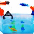 Play set for robotic fish Crane and catapult