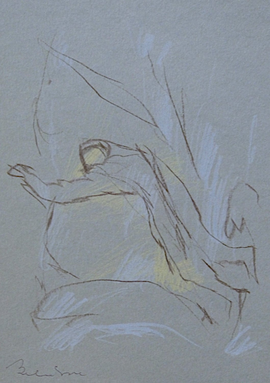 #8 - original drawing 21x15 cm