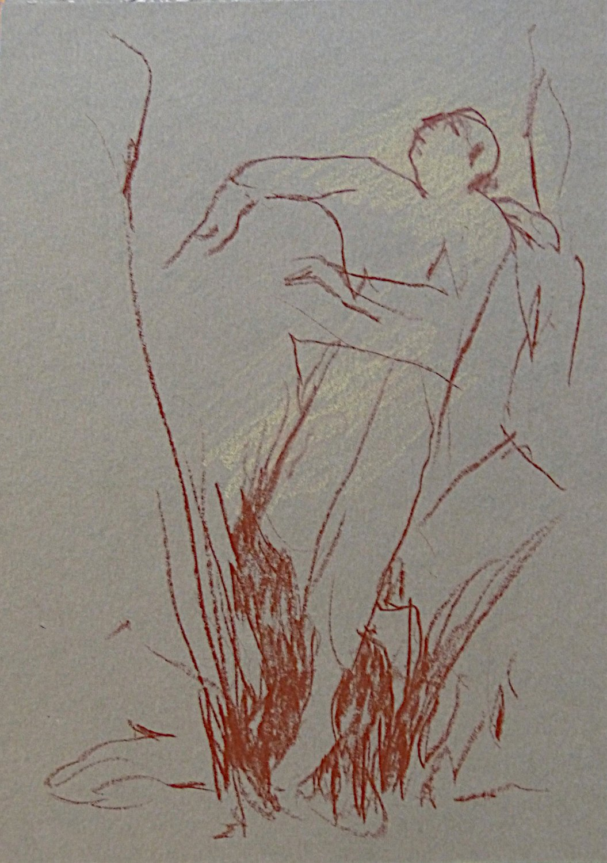 #10 - original drawing 21x15 cm