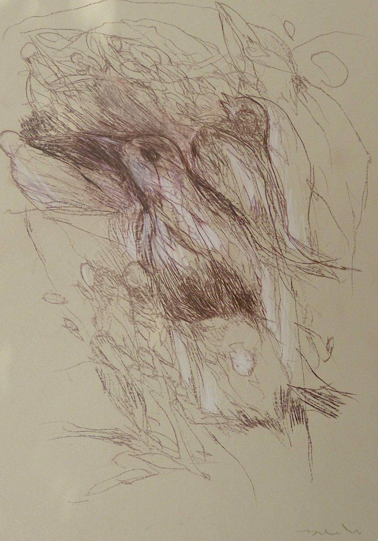 #24 - original drawing 29x21 cm