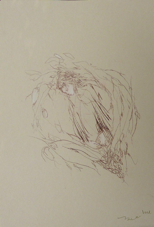 #26 - original drawing 29x21 cm