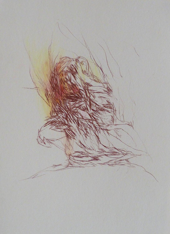 #30 - original drawing 29x21 cm