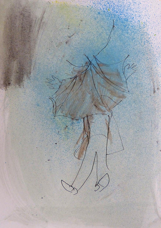 #31 - original drawing  29x21 cm