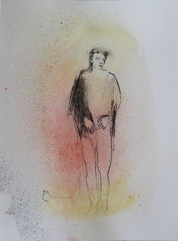 #34 - original drawing 29x21 cm