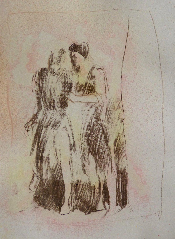 #39 - original drawing 29x21 cm