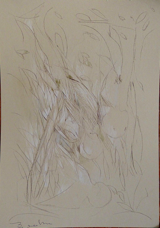 #43 - original drawing 29x21 cm