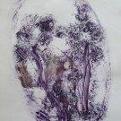 The Forest Elves - original painting - 21x29 cm