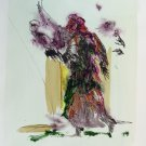 The Sorceress 1 - original painting - 32x24 cm