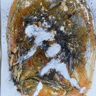 The Ghost 4 - original painting - 32x24 cm