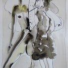 The Spooks 9 - original surrealist drawing - 21x29 cm