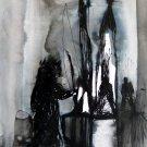 The Spooks 14 - original surrealist drawing - 24x16 cm