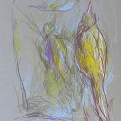 #46 - Birds - original drawing 29x21 cm