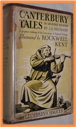 Canterbury Tales by Geoffrey Chaucer--In Modern English by J. U. Nicolson
