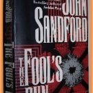 The Fool's Run by John Sandford (Previously Published Under the Name John Camp)