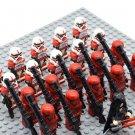 Star Wars Sith Troopers with Dark Rey Minifigures China Building Block Figures Set SW81