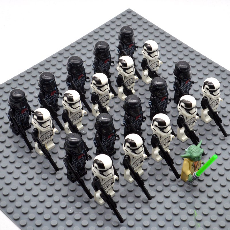 Star Wars 41 Elite Corp with Yoda Minifigures China Building Block Figures Set SW34