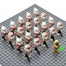 Star Wars BARC Troopers with Stass Allie Minifigures China Building Block Figures Set SW31