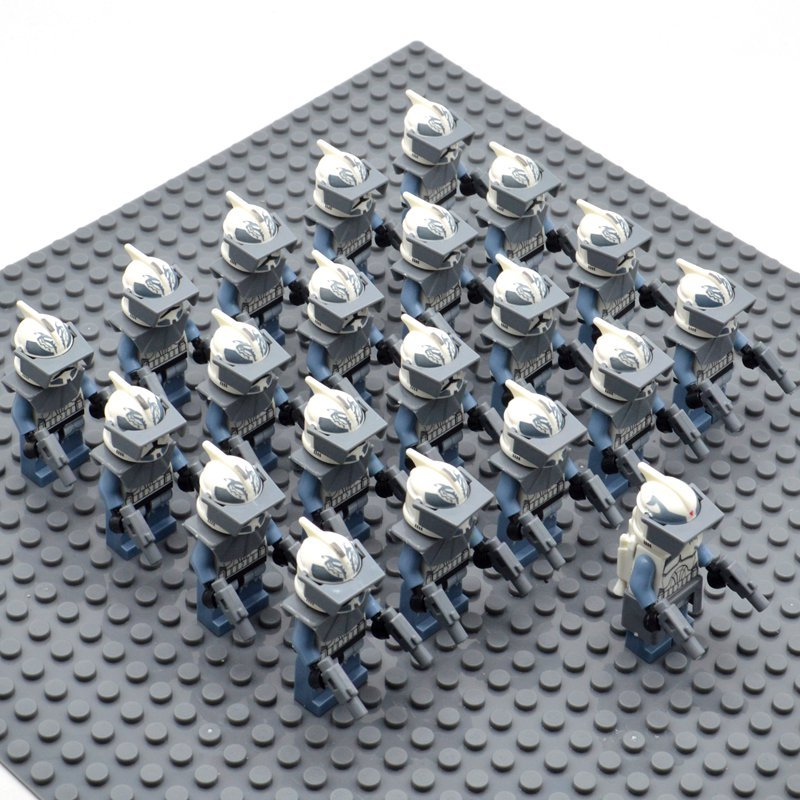 Star Wars Wolfpack wth Commander Wolffe Minifigures China Building Block Figures Set SW17