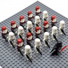 Star Wars Imperial Snow Troopers with Darth Vader Minifigures China Block Figures Set SW43