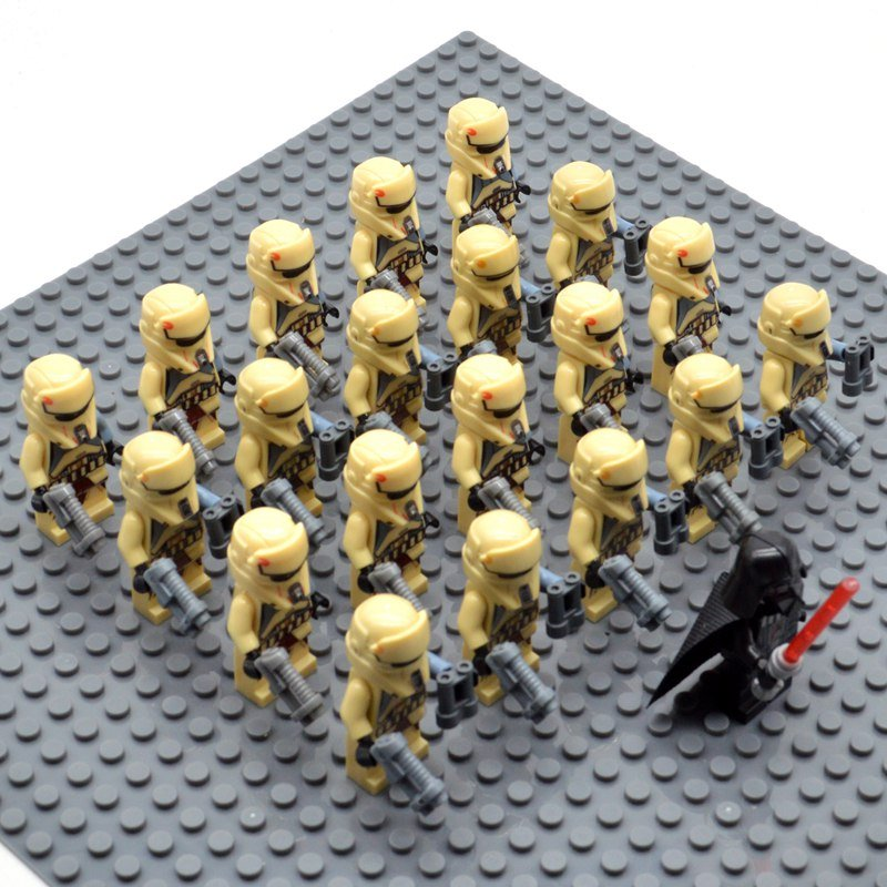 Star Wars Imperial Stormtroopers with Darth Vader Minifigures China Block Figures Set SW37
