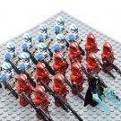 Star Wars 501 Legion with Emperor Palpatine Minifigures China Block Figures Set SW60