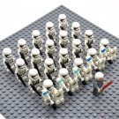Star Wars White Imperial Stormtroopers with Emperor Palpatine Minifigures China Figures Set SW38