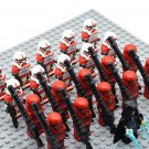 Star Wars Sith Troopers with Emperor Palpatine Minifigures China Figures Set SW80