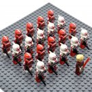 Star Wars Shock Troopers with Emperor Palpatine Minifigures China Figures Set SW44