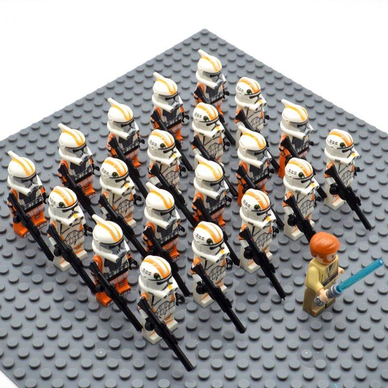 Star Wars 212 Attack Battalion with Obi-wan Kenobi Minifigures China Figures Set SW21