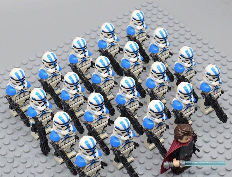 Star Wars 501 Legion with Anakin Skywalker Minifigures China Block Figures Set SW115