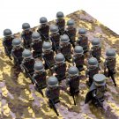 WW2 Italy Army Infantry Soldiers Minifigures Building Block Figures Set B2108IT