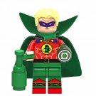 Alan Scott Green Lantern Minifigure Bricks Block Figure Toy Action Figure XH734